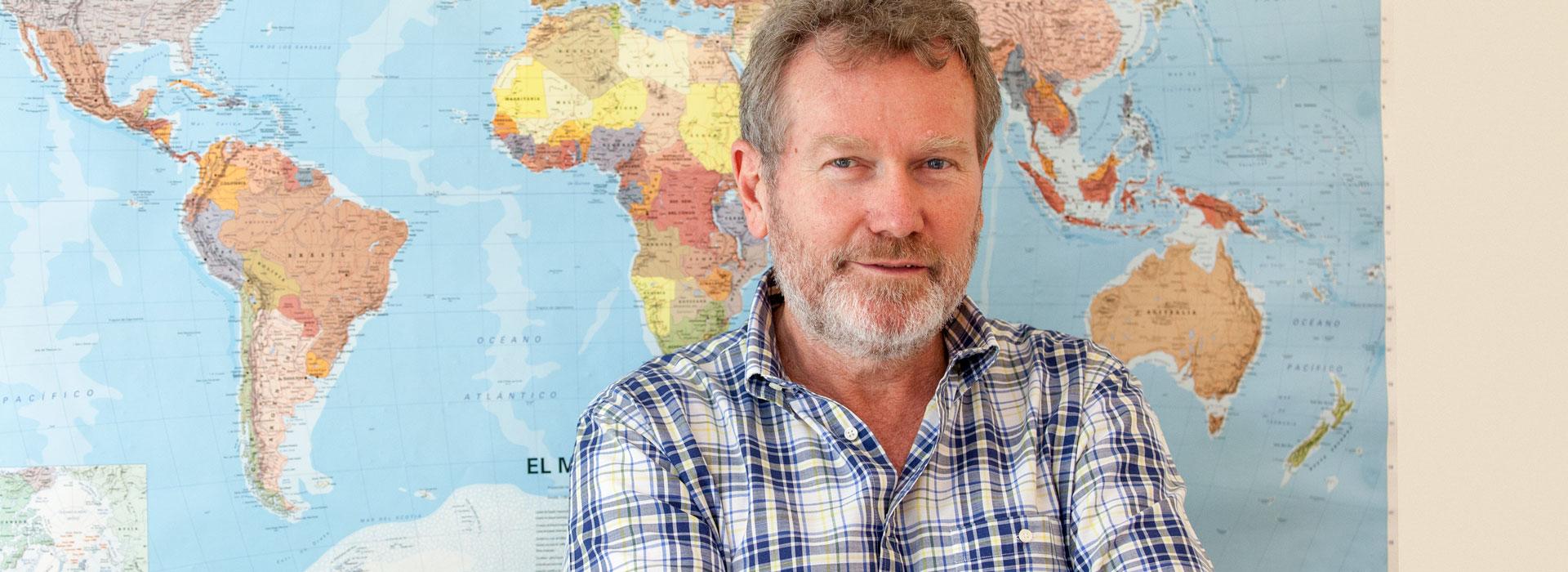 Paul Kelly, fundador de Profesor Inglés Online